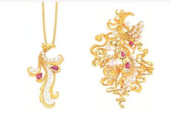 周大福2015故宫文化珠宝系列展再造风尚新范