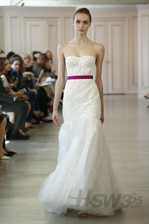 Oscar de la Renta 推出2016春季婚纱礼服
