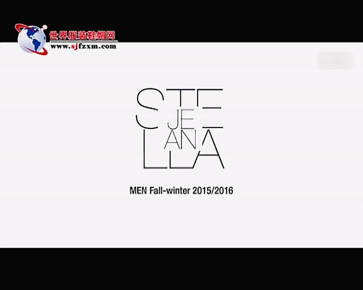 Stella Jean 2015秋冬男装秀