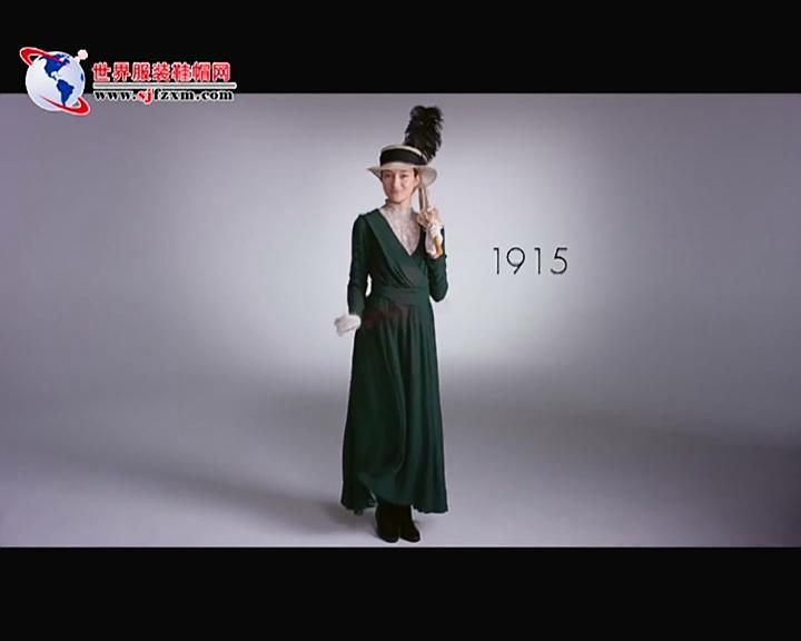 2分鐘看完歐洲女性的100年時尚