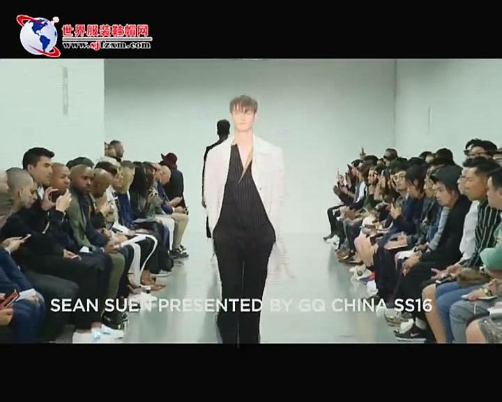 Sean Suen2016春夏伦敦时装周新品秀