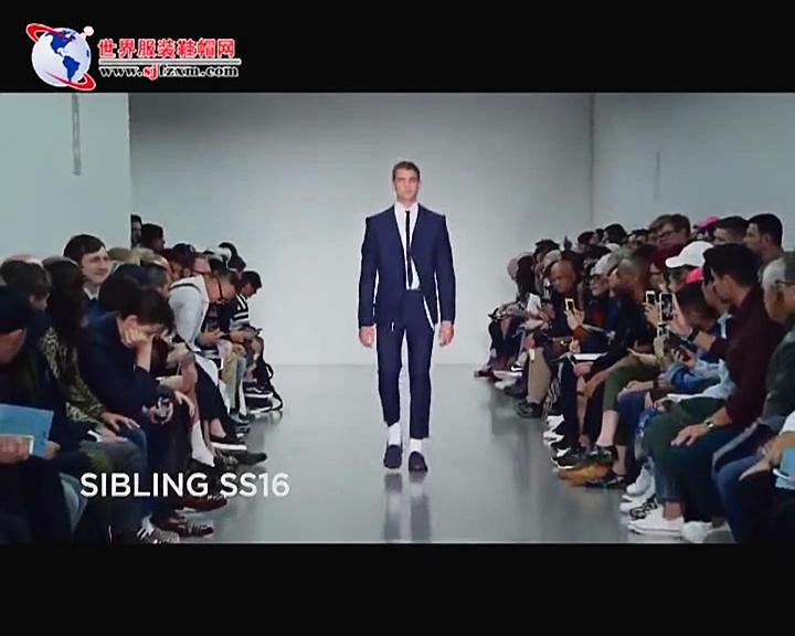倫敦男裝周 Sibling 新品發布會