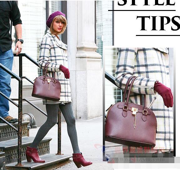 跟着Taylor Swift学穿搭 深秋街拍5种造型!