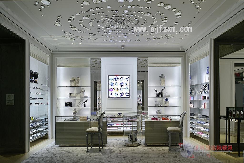 鞋店面吧台设计图片