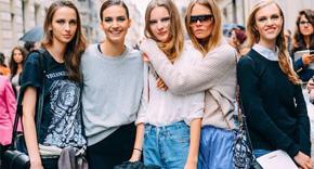 时装周风潮引领的街拍时尚
